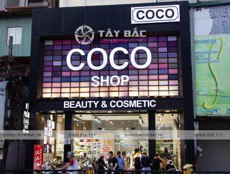 Biển quảng cáo Coco Shop Chùa Bộc