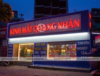 Biển quảng cáo kính mắt Quang Nhãn