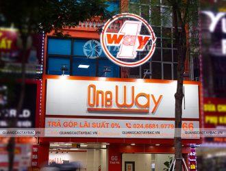Biển quảng cáo cửa hàng điện thoại Oneway