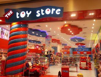 Biển quảng cáo đồ chơi trẻ em Toy Store